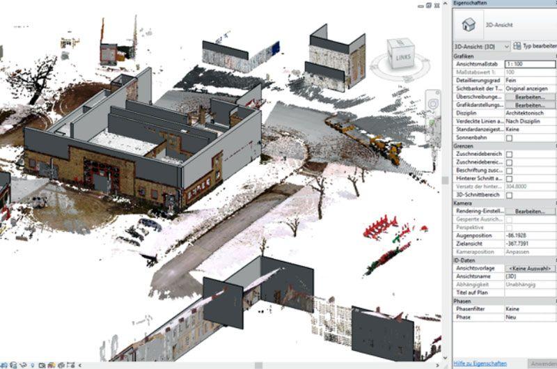 Alte Schmiede, BIM 360, Screenshot aus Maturaprojekt