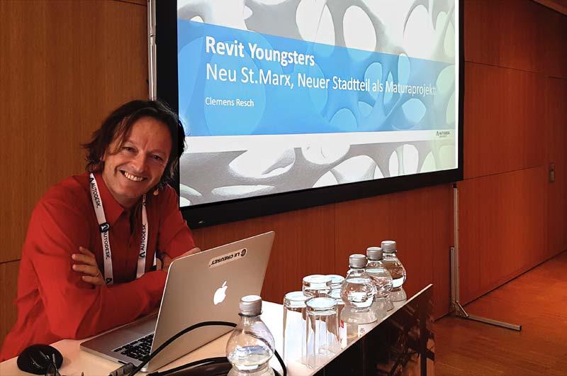 Keynote Autodesk University Clemens Resch