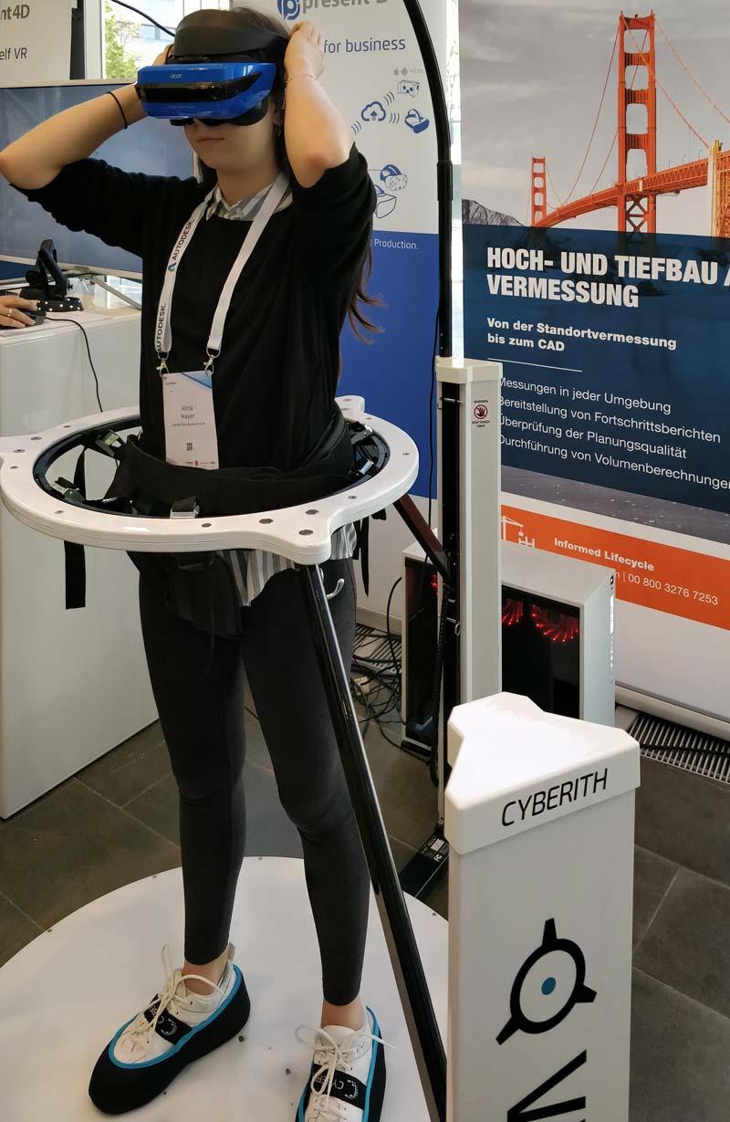 Virtual Reality Motion Platform