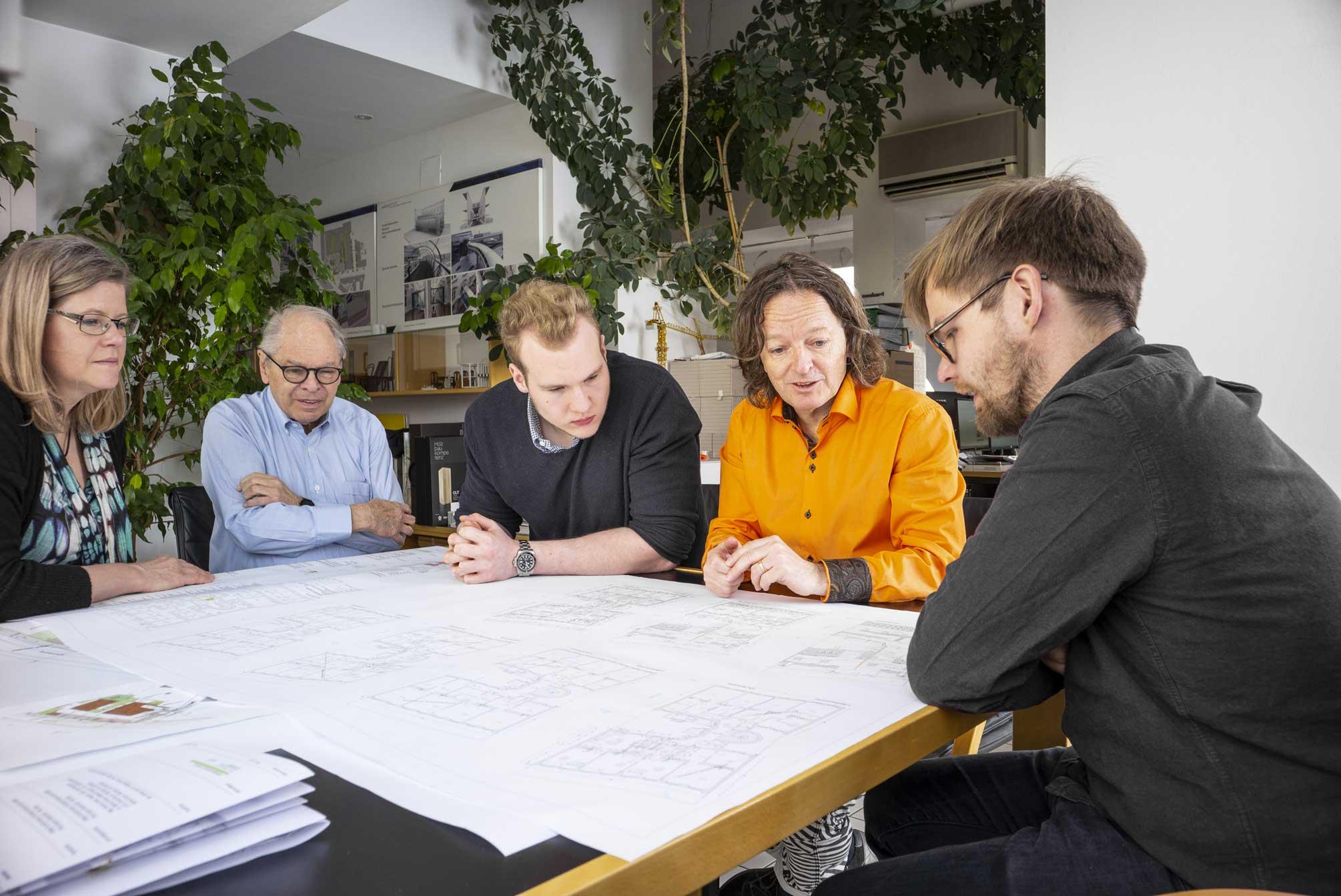 ArchOffice Zweiquadrat - Constanze Strapetz, Manfred F. Resch, Mathias Mycinski, Clemens Resch, Philip Poigner