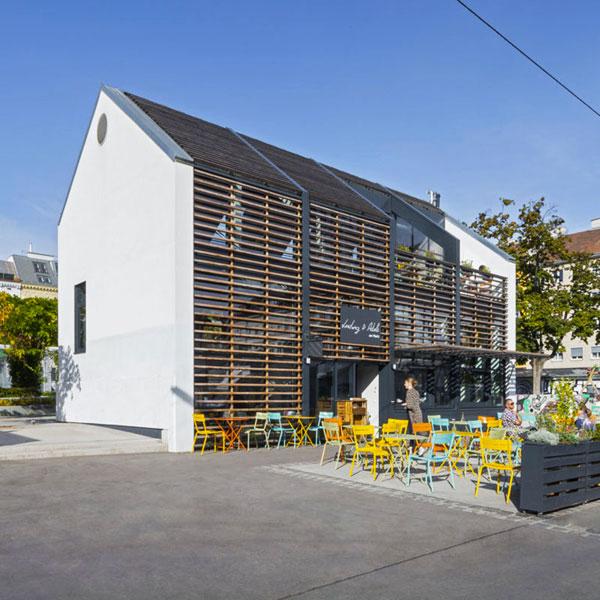 Gastronomielokal Yppenplatz 4