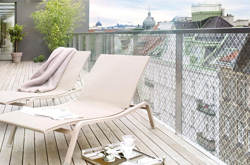 Das Hamerling - Penthouse Dachterrasse