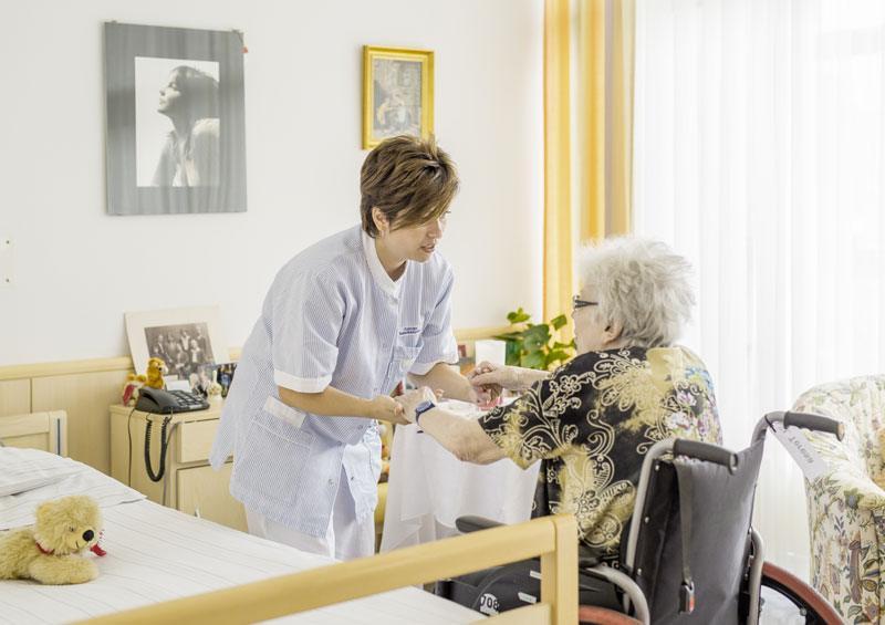 Pflege im HB Seeböckgasse - Patientenzimmer