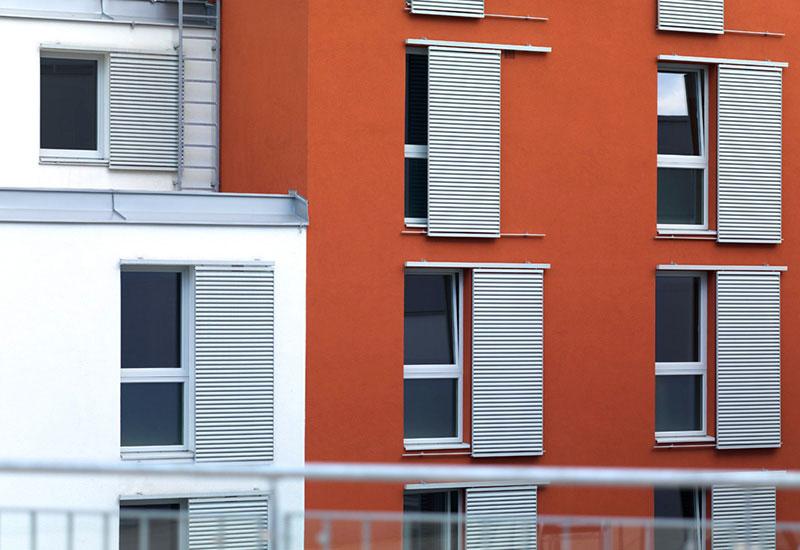 Samariterbund Haus Max Winter - Fassadendetail