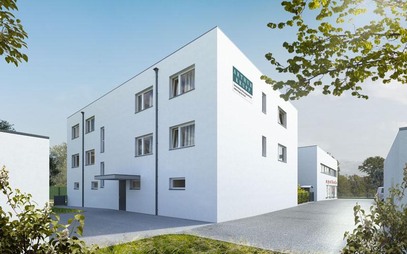 Wohnbau Pottenstein, Bauetappe 1