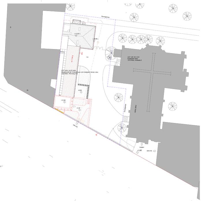 Einreichplan Niederlassung Rennweg 31A