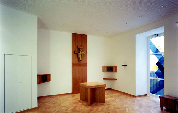 Burjan Kapelle - CS Caritas Socialis. Letzte Ruhestätte Hildegard Burjan.