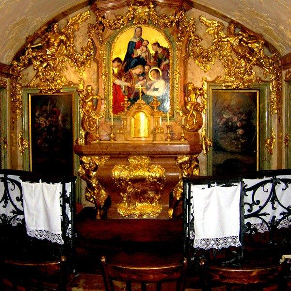 Kapelle Ehemaliges Wohnzimmer des hl. Stanislaus Kostka
