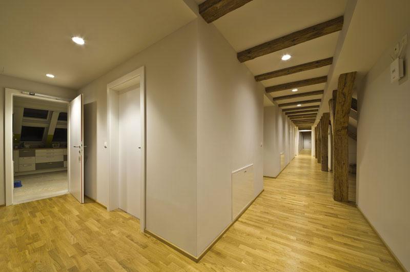 Dachbodenausbau Stadtpalais