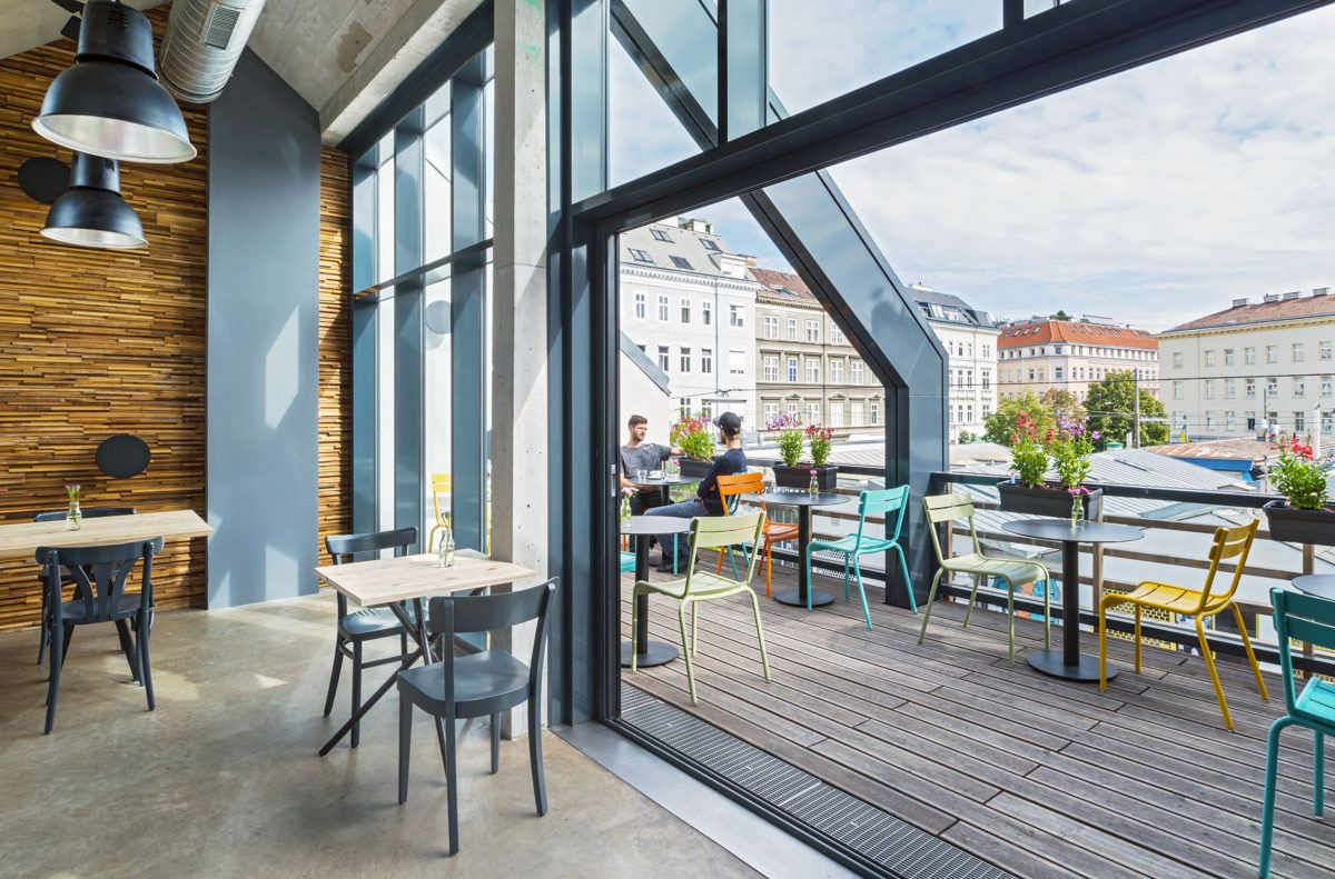 Yppenplatz 4 Terrasse