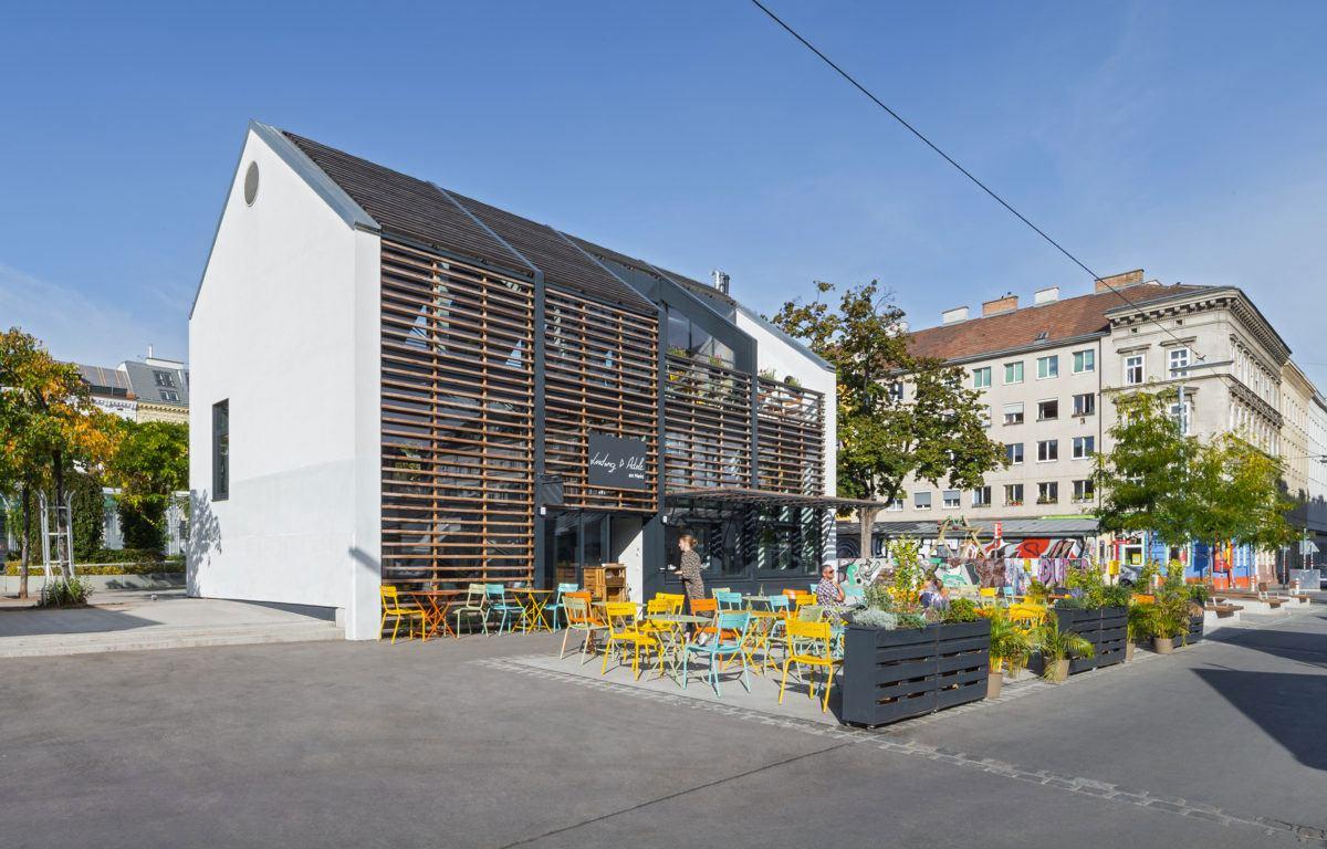 Yppenplatz 4 bei Eröffnung